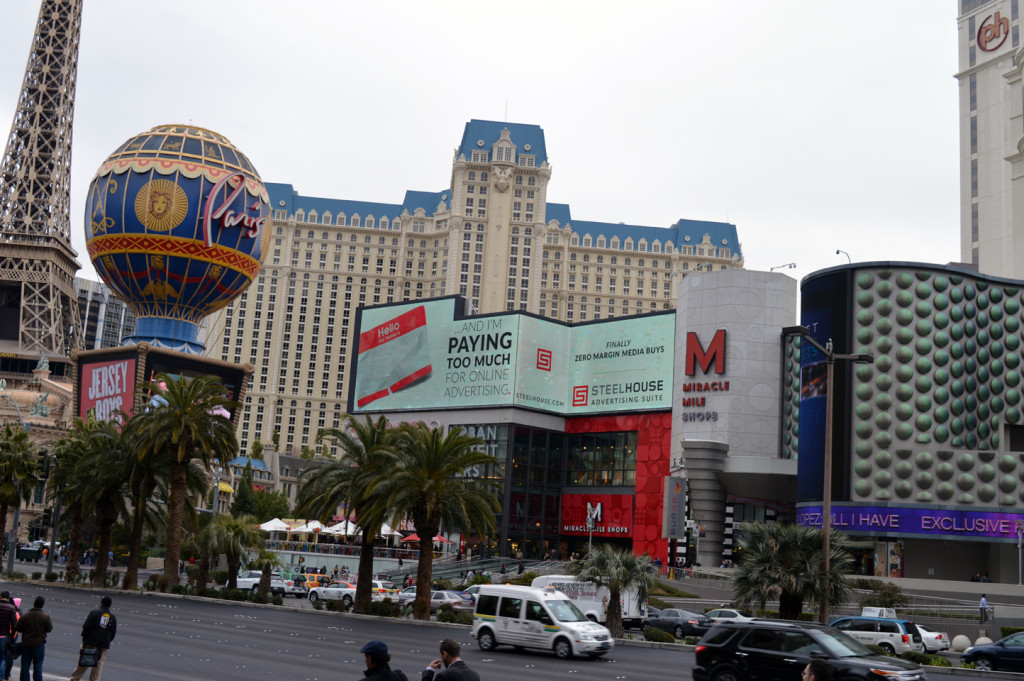 Miracle Mile Shops at Planet Hollywood Digital Spectacular (North)